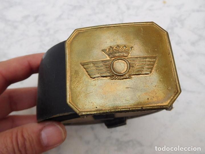 CINTURÓN DE LA AVIACIÓN ESPAÑOLA ÉPOCA FRANCO (Militar - Cinturones y Hebillas )