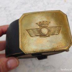 Militaria: CINTURÓN DE LA AVIACIÓN ESPAÑOLA ÉPOCA FRANCO. Lote 198404373