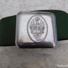 Militaria: CINTURÓN PARA LA BRIGADA PARACAIDISTA ESPAÑOLA BRIPAC ÉPOCA JCI. Lote 198405021