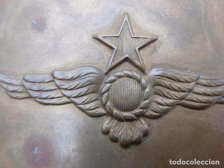 Militaria: Hebilla de cinturón de la aviación española época II República - Foto 3 - 198411357