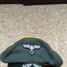 Militaria: GORRA DE OFICIAL CABALLERIA M34 ALEMANA, REPLICA. Lote 198632561