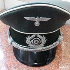Militaria: GORRA DE OFICIAL DE INFANTERIA DE LA WEHRMATCH. Lote 198651995