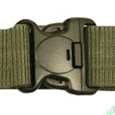 Militaria: CINTURÓN TÁCTICO SWAT - VERDE OLIVA KOMBAT UK • 100% NYLON 5,5 CMS ANCHO • 102CM DE LARGO. Lote 198807248