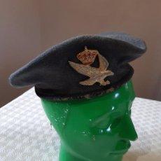 Militaria: BOINA BRILAT EJERCITO ESPAÑOL. INFANTERIA LIGERA AEROTRANSPORTABLE. ELOSEGUI. TALLA 56. USADA.. Lote 198808062