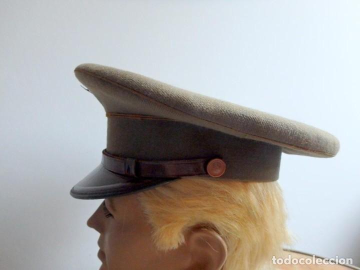 Militaria: (JG-200400)Gorra de plato , Ejercito Español , modelo 1930-31. Reg.nº 3 . - Foto 3 - 198920805
