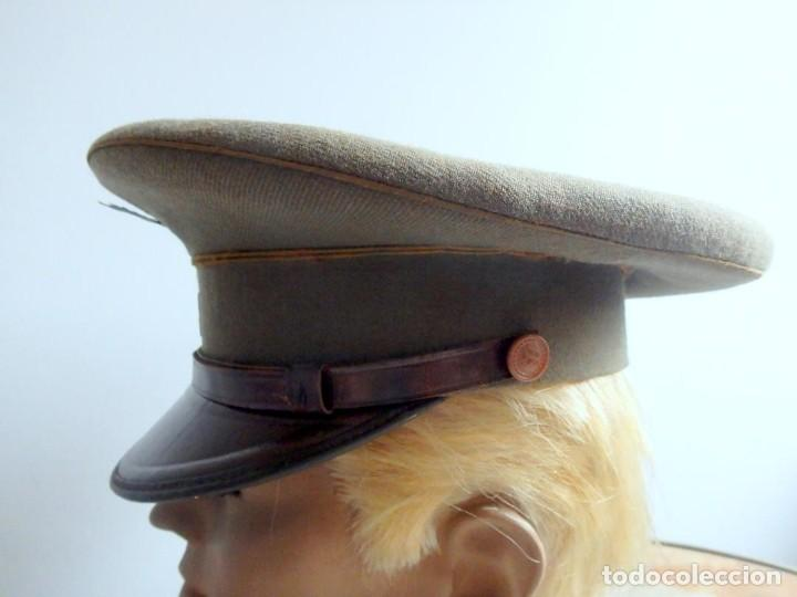 Militaria: (JG-200400)Gorra de plato , Ejercito Español , modelo 1930-31. Reg.nº 3 . - Foto 9 - 198920805