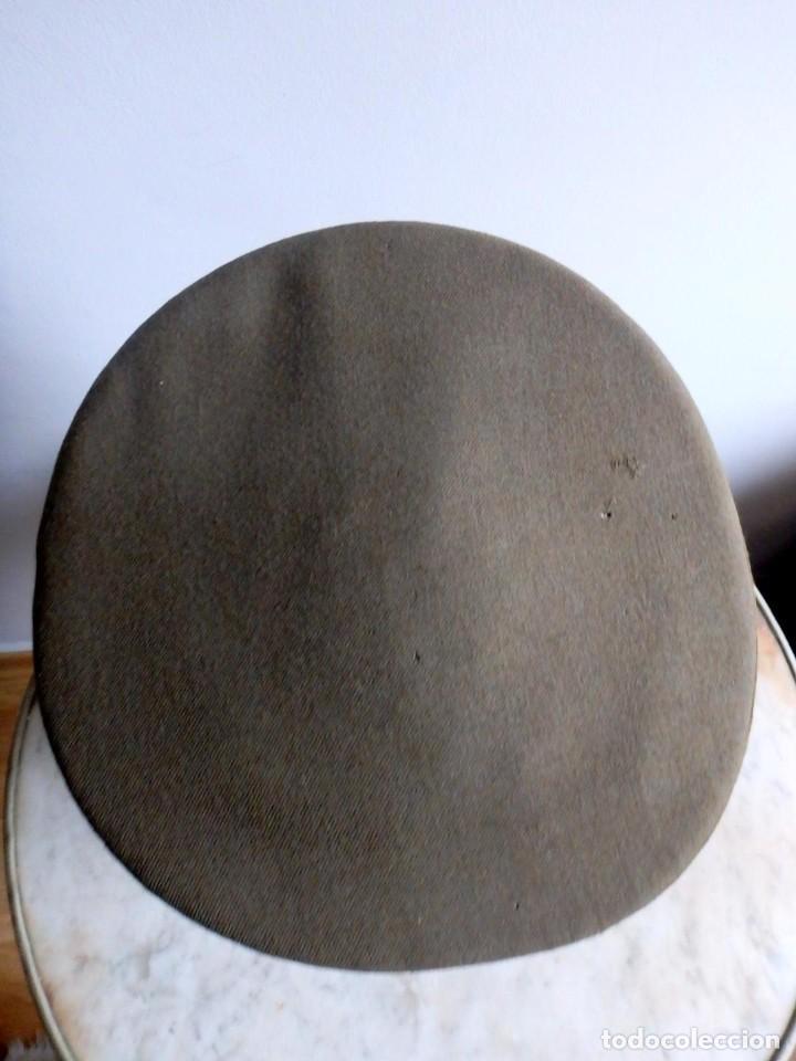 Militaria: (JG-200400)Gorra de plato , Ejercito Español , modelo 1930-31. Reg.nº 3 . - Foto 10 - 198920805