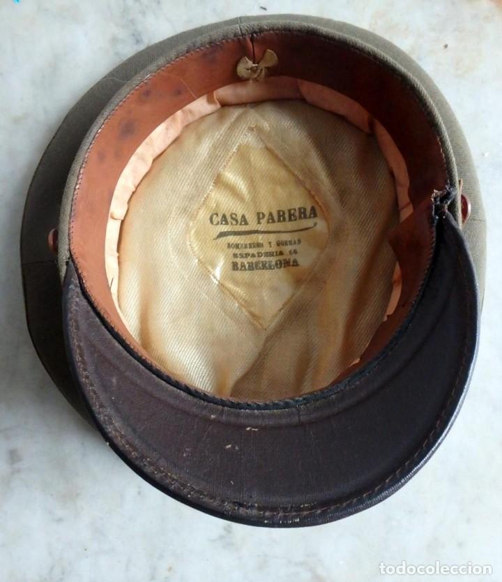 Militaria: (JG-200400)Gorra de plato , Ejercito Español , modelo 1930-31. Reg.nº 3 . - Foto 11 - 198920805