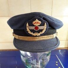 Militaria: GORRA DE PLATO PARA SUBOFICIAL DEL EJÉRCITO DEL AIRE. Lote 199090207