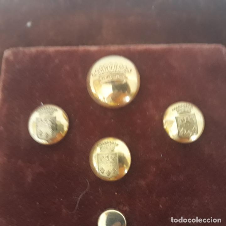 Militaria: coleccion de botones antiguos - Foto 3 - 199360423