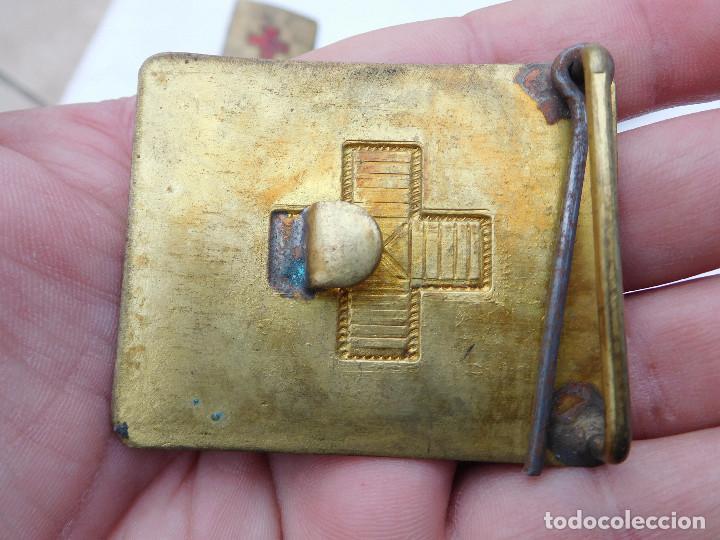 Militaria: Hebilla antigua de la cruz roja española - Foto 2 - 25828841
