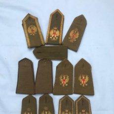 Militaria: LOTE DE HOMBRERAS. Lote 200748306