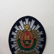 Militaria: PARCHE UNIFORME POLICÍA LOCAL ELCHE AÑOS 80'S. Lote 201203083
