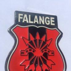 Militaria: HEBILLA ACTUAL DE FALANGE,FRANCO,FRANQUISTA,BANDERA FALANGE. Lote 201746471