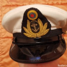 Militaria: GORRA SUBOFICIAL MARINA VENEZUELA (RARA). Lote 202559907