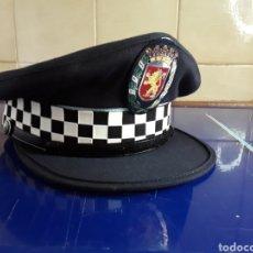Militaria: GORRA DE POLICÍA LOCAL DE ZARAGOZA AÑO 1997 N°55 SIN ESTRENAR. Lote 202932458