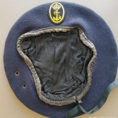 Militaria: BOINA DE LA ARMADA. Lote 202935556