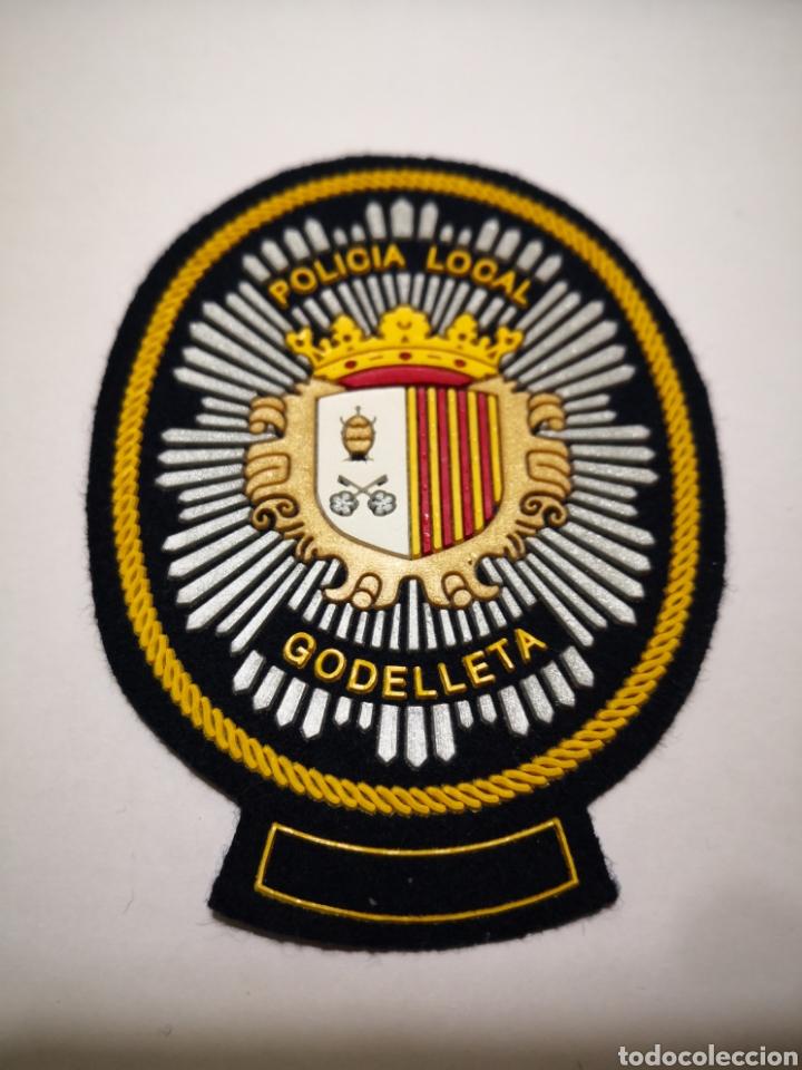 PARCHE POLICÍA LOCAL GODELLETA VALENCIA (Militar - Otros relacionados con uniformes )