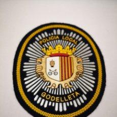Militaria: PARCHE POLICÍA LOCAL GODELLETA VALENCIA. Lote 203164303