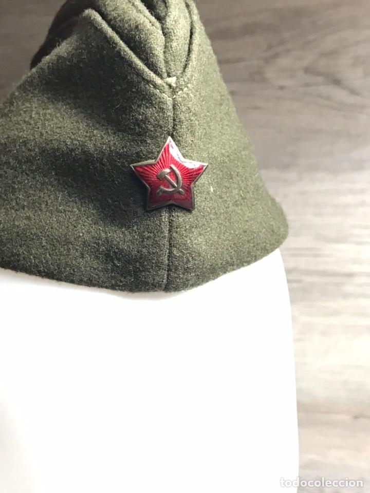 Militaria: Gorra sovietica 1953 Talla 56 - Foto 2 - 203800301