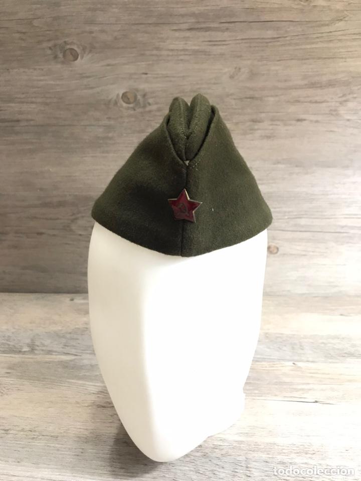 Militaria: Gorra sovietica 1953 Talla 56 - Foto 4 - 203800301