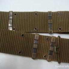 Militaria: CINTURON DE COMBATE, CUERPO DE MARINES, DECADA DE LOS 70-80..CAMBAS. LONETA DURA.. Lote 204789198