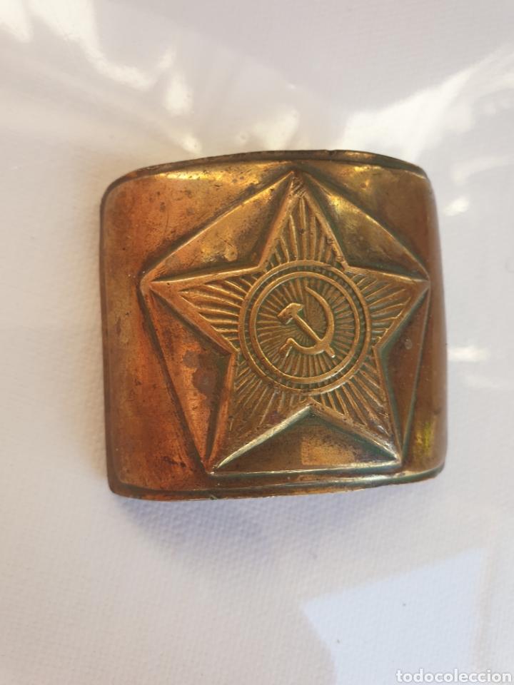 Militaria: Hebilla soldado sovietico. - Foto 2 - 205040301