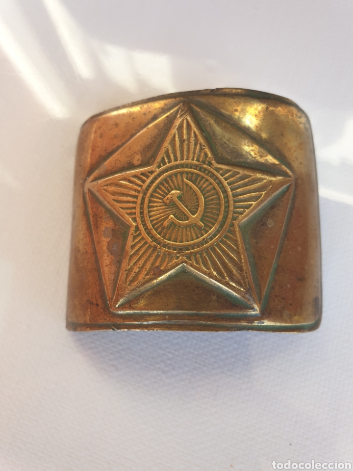 HEBILLA SOLDADO SOVIETICO. (Militar - Cinturones y Hebillas )