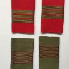 Militaria: 4 HOMBRERAS SARGENTO. EJÉRCITO ESPAÑOL DE TIERRA. INFANTERÍA (1982) ORIGINALES. COLECCIONISTA.. Lote 205052752