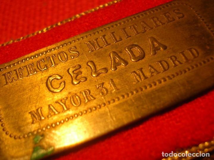 Militaria: DRAGONAS Y HOMBRERAS REPUBLICANAS DE OFICIAL JEFE DEL ARMA DE ARTILLERIA. SEGUNDA REPUBLICA. - Foto 10 - 205196687