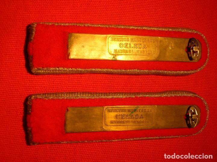 Militaria: DRAGONAS Y HOMBRERAS REPUBLICANAS DE OFICIAL JEFE DEL ARMA DE ARTILLERIA. SEGUNDA REPUBLICA. - Foto 11 - 205196687
