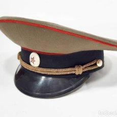 Militaria: GORRA DE PLATO DE LOS AOÑOS 70 U 80 DEL EJÉRCITO RUSO - RUSA. Lote 205238347