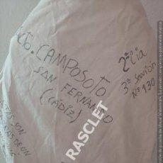Militaria: ANTIGUO PETATE MILITAR DEL AÑO 1993 CAMPAMENTO CAMPOSOTO SAN FERNANDO CADIZ -. Lote 205268993