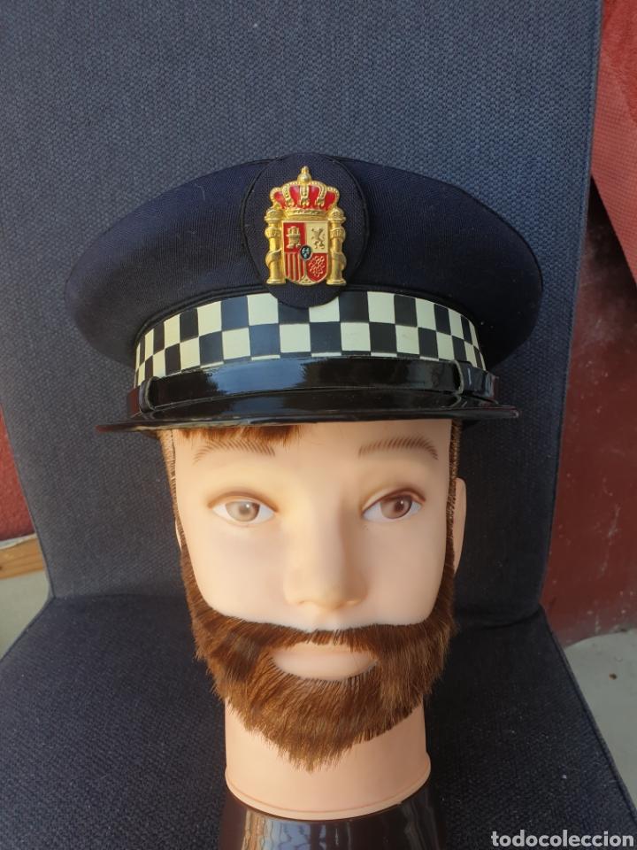 Militaria: Gorra de policia Espana - Foto 2 - 205354435