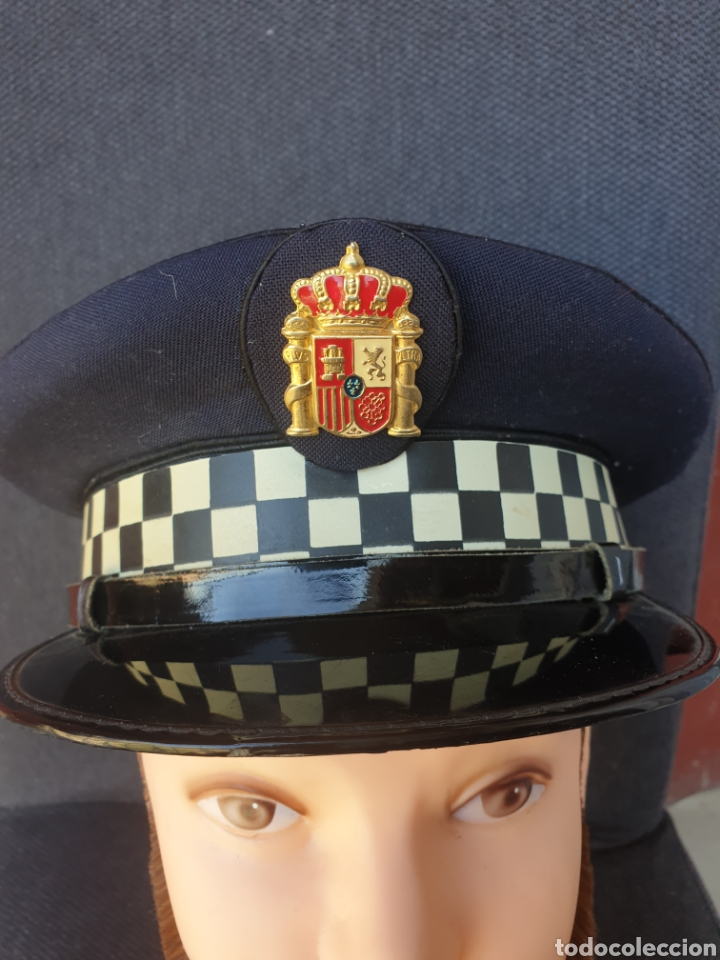 Militaria: Gorra de policia Espana - Foto 3 - 205354435