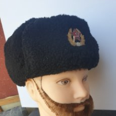 Militaria: GORRA DE INVIERNO MARINE RUSO-SOVIETICO.. Lote 205364378