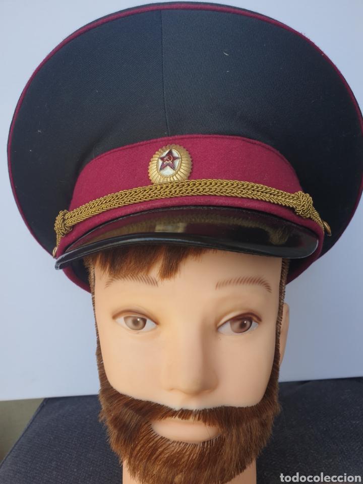 Militaria: Gorra de oficial sovietico - Foto 2 - 205368110