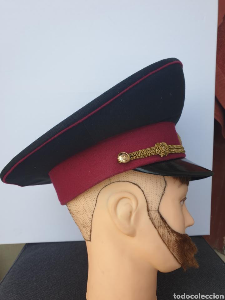 Militaria: Gorra de oficial sovietico - Foto 3 - 205368110