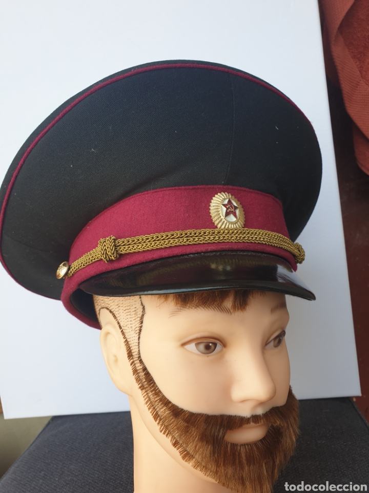 GORRA DE OFICIAL SOVIETICO (Militar - Boinas y Gorras )
