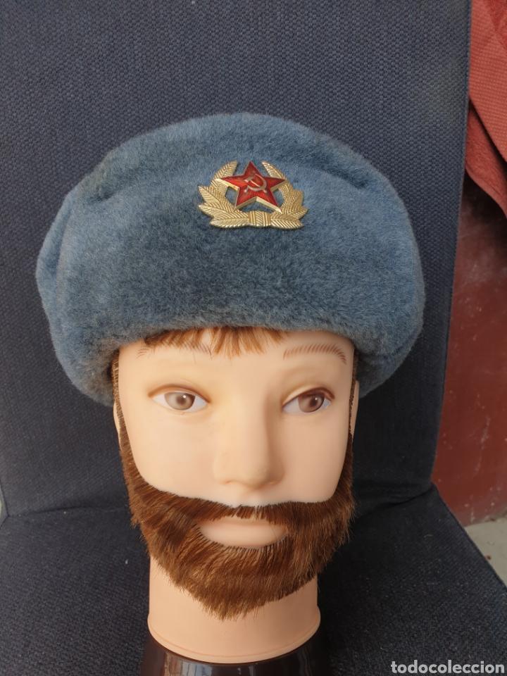 Militaria: Gorro de invierno soldado sovietico - Foto 2 - 205370947