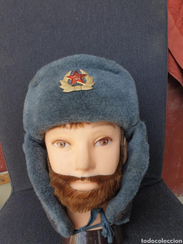 Militaria: Gorro de invierno soldado sovietico - Foto 4 - 205370947
