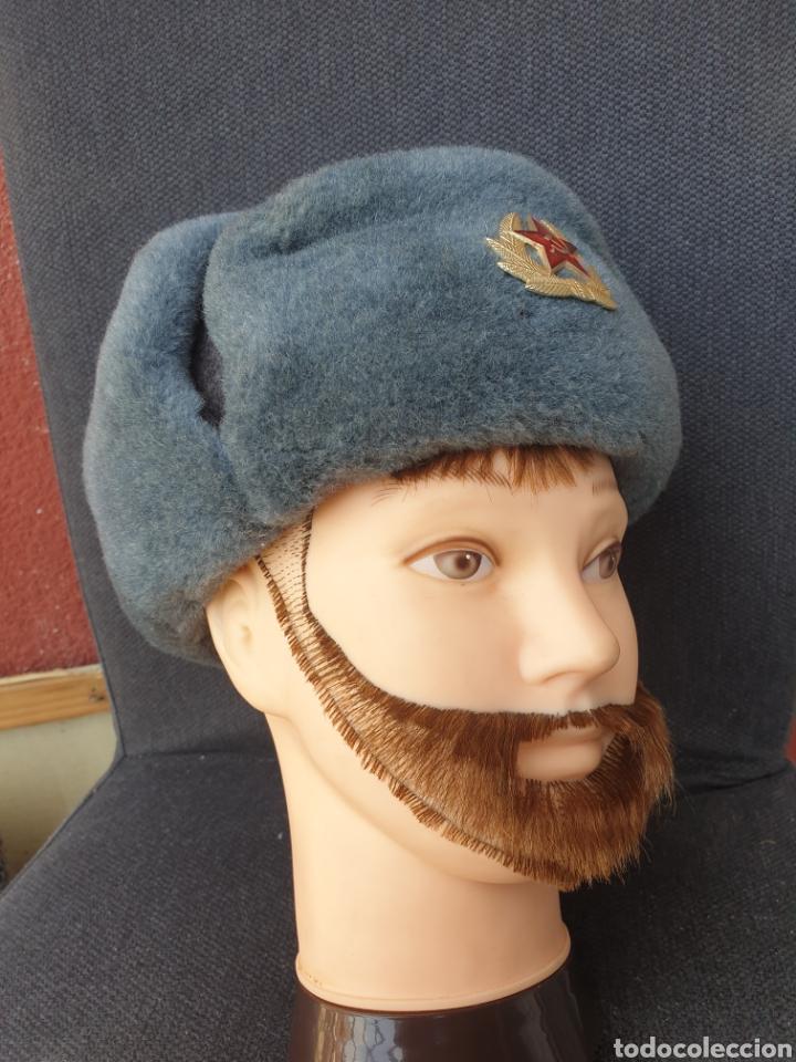 GORRO DE INVIERNO SOLDADO SOVIETICO (Militar - Boinas y Gorras )