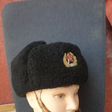 Militaria: GORRO DE INVIERNO MARINE SOVIETICO.. Lote 205371510