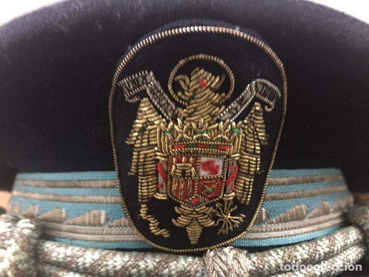 Militaria: Gorra de Plato Inspector Policia Armada - Foto 2 - 205377281