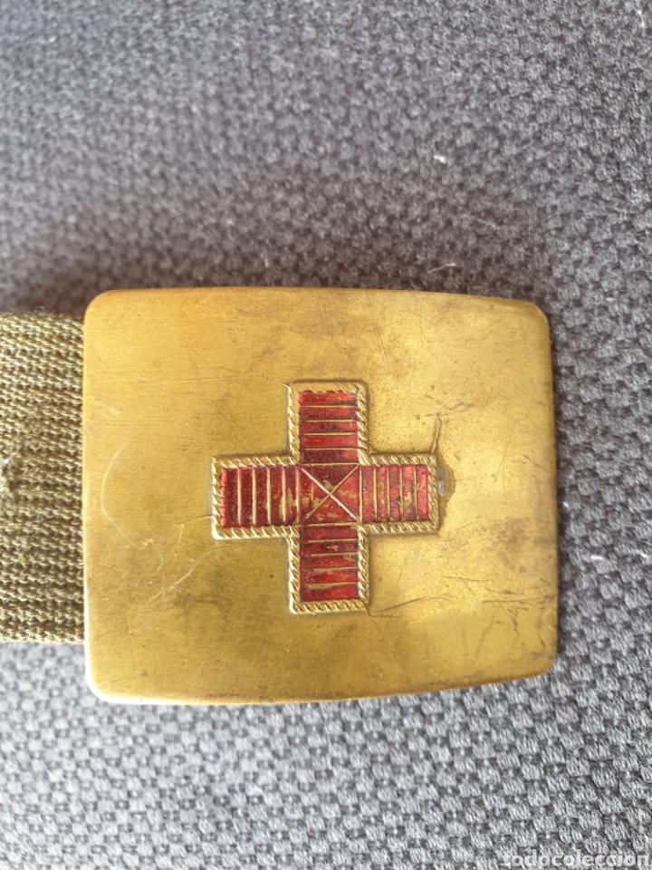 Militaria: Cinturon medico . - Foto 2 - 205522485