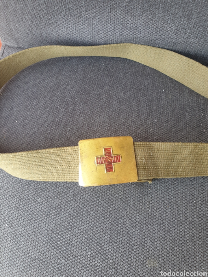 CINTURON MEDICO . (Militar - Cinturones y Hebillas )