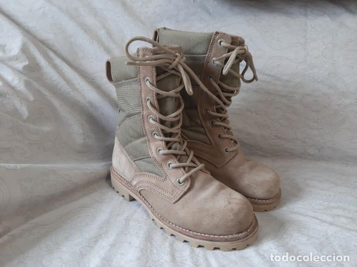 BOTAS ARIDAS PISTACHO TALLA 39 EJERCITO ESPAÑOL (Militar - Botas y Calzado)