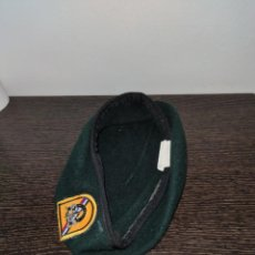 Militaria: BOINA VERDE ORIGINAL AMERICANA, TALLA 56.. Lote 205605288