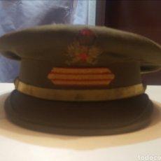 Militaria: GORRA DE PLATO DEL EJERCITO ESPAÑOL. Lote 205660752