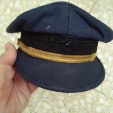 Militaria: ANTIGUA GORRA DE PLATO EJERCITO DEL AIRE - FAUSTO RIOS (LEON). Lote 205789536